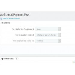 Additional Payment Fees