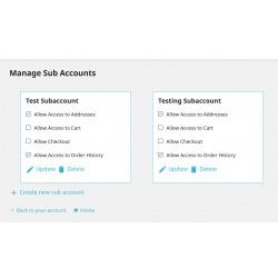 Multiple Customer Account
